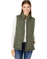 Amazon Essentials Heavy-Weight Puffer Vest Down-Outerwear-Vests - Verde
