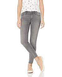 Hudson Jeans Krista Ankle Super Skinny 5 Pocket Jean - Gray