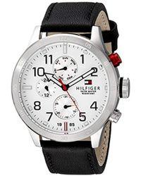Tommy Hilfiger - 1791138 Cool Sport Analog Display Quartz Black Watch - Lyst