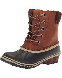 Sorel Slimpack Lace Ii Waterproof Insulated Boot - Brown