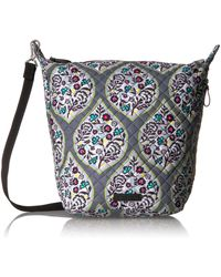 Vera Bradley Carson Hobo Bag-signature - Multicolor