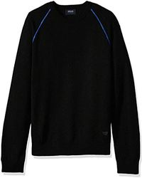 Armani Jeans - Plus Size Knit Pullover Sweater - Lyst