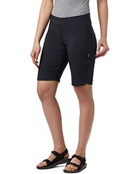 Columbia Back Beauty Long Sport Short, Stain Repellent, Sun Protection - Black