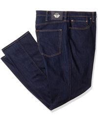 Dockers Straight Fit Jean Cut Denim Pants - Blue