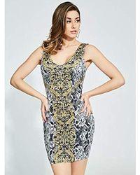 Guess - Sleeveless Rae Dress - Lyst