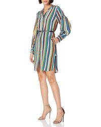 Tracy Reese Shirt Dress - Blue