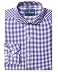 Buttoned Down - Tailored Fit Non-iron Dress Shirt (discontinued Patterns) - Lyst