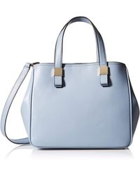 Cole Haan Tali Leather Small Satchel - Blue