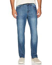 Izod Comfort Stretch Denim Jeans (regular Fit) - Blue