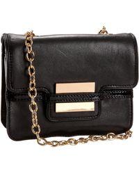 Zac Zac Posen Z Spoke Zac Posen Small Shoulder Bag With Chain Strap - Black
