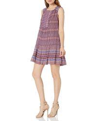 BCBGMax Azria Womens Noreen Short Sleeve Knit City Dress