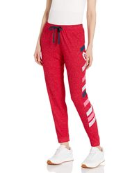 Skechers Bobs For Dogs And Cats Cosy Pull On Jogger Sweat Pant - Red