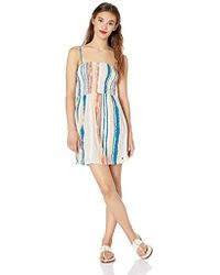 Roxy - Summerland Party Strappy Dress - Lyst