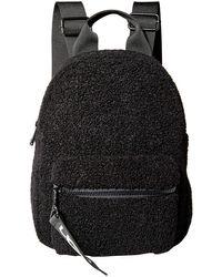 UGG Dannie Mini Backpack Faux Fur - Black