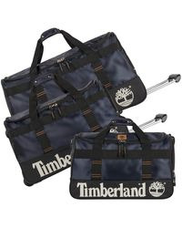 Timberland 3 Piece Wheeled Duffle Set - Multicolor