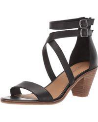 Lucky Brand Ressia Heeled Sandal - Black