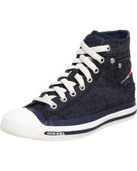DIESEL Exposure Sneaker - Blau