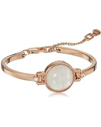 Kenneth Cole - S Blush Moonstone Flex Bracelet, Blush, One Size - Lyst