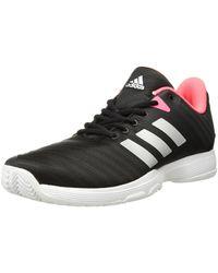 adidas Barricade Court Tennis Shoe - Black