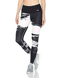 Puma In Black Explosive Leggings Lyst Velvet 5cARLq34j