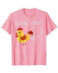 Guess - What Chicken Butt Shirt   The Original Distressed Look - Lyst