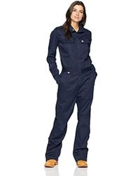 Carhartt Big And Tall Big & Tall Flame Resistant S Rugged Flex Twill Coverall - Blue