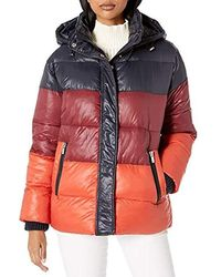Rachel Roy Light Puffer Jackets - Multicolor