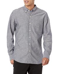 Goodthreads Slim-fit Long-sleeve Chambray - Blue