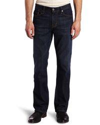 AG Jeans The Protégé Straight Leg Jean In Hunts - Blue
