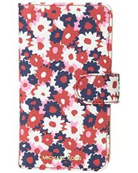 Michael Kors - Multi Carnation Folio Phone Case 8 - Lyst