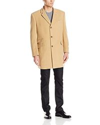 Tommy Hilfiger - Bryce Single Breasted Top Coat - Lyst