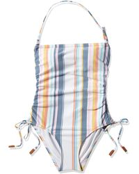 Sperry Top-Sider Bandeau With Shirred Front Seams - Blue