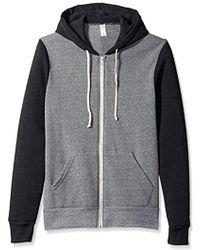 Alternative Apparel - Rocky Color Blocked Sweater - Lyst