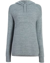 Woolrich Eco Rich Toketee Sweater Hoodie - Blue