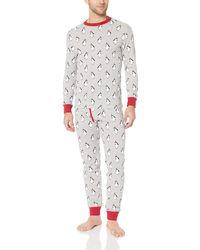 Amazon Essentials Knit Pajama Set - Gray