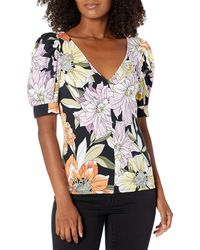 Guess Half Sleeve Lynzy Top - Natural