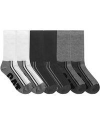 Caterpillar 6-pack Half Cushioned Crew Socks - Multicolor