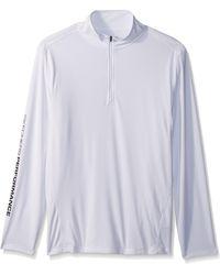 Skechers Golf S Godri Ultra 1/4 Zip Pullover - White