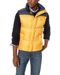 Tommy Hilfiger Tommy Jeans Vest With Down Fill Classics Collection - Multicolor