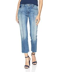 Lucky Brand - Mid Rise Ava Slim Straight Jean In Waterville - Lyst