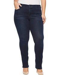 NYDJ - Plus Size Marilyn Straight Jeans In Smart Embrace Denim - Lyst