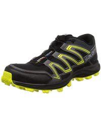 buy popular c3f6f b9a08 Yves Salomon Speedtrak Trail Running Shoes in Blue for Men ...