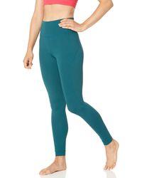Core 10 Plus Size Nearly Naked Yoga High Waist Full-length - Blue