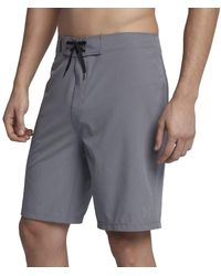 Hurley Phantom One And Only Board Short - Gray