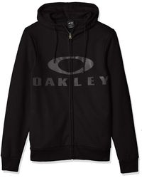 Oakley Bark Fz Hoodie - Black