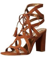 Cynthia Vincent Pembroke Dress Sandal - Brown