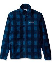 Columbia Cascades Explorer Full Zip Fleece Jacket - Blu