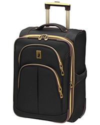 London Fog Coventry Ul Collection 21 Inch Expandable Upright - Black