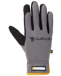 Carhartt mens Full Coverage Micro Foam Nitrile Dipped Glove Cold Weather Gloves
