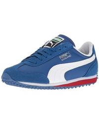 96b4ed291020 Lyst - Puma Whirlwind Mesh V Toddler Us 5 Blue Sneakers in Blue for Men